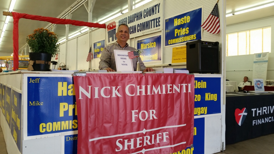 Nick Chimienti for Sheriff at the 142nd Gratz Fair