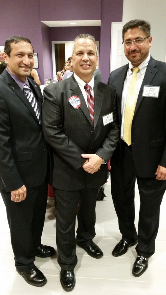 Nick  Attends Hispanic Chamber of Commerce Event