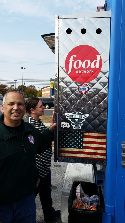Nick meets Dauphin County Residents at Food Truck Festival